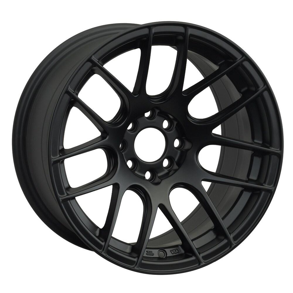 Xxr 530 17x8.25 5x100/5x114.3 35et 73.1mm flat black wheel