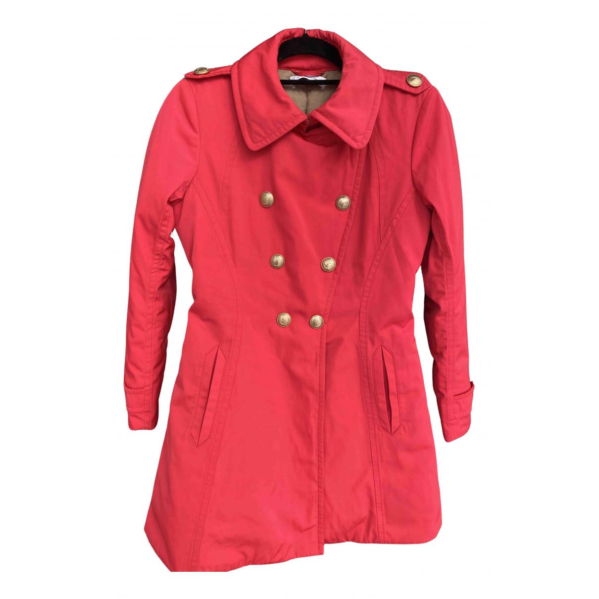 Versace - Manteau   pour femme - rouge