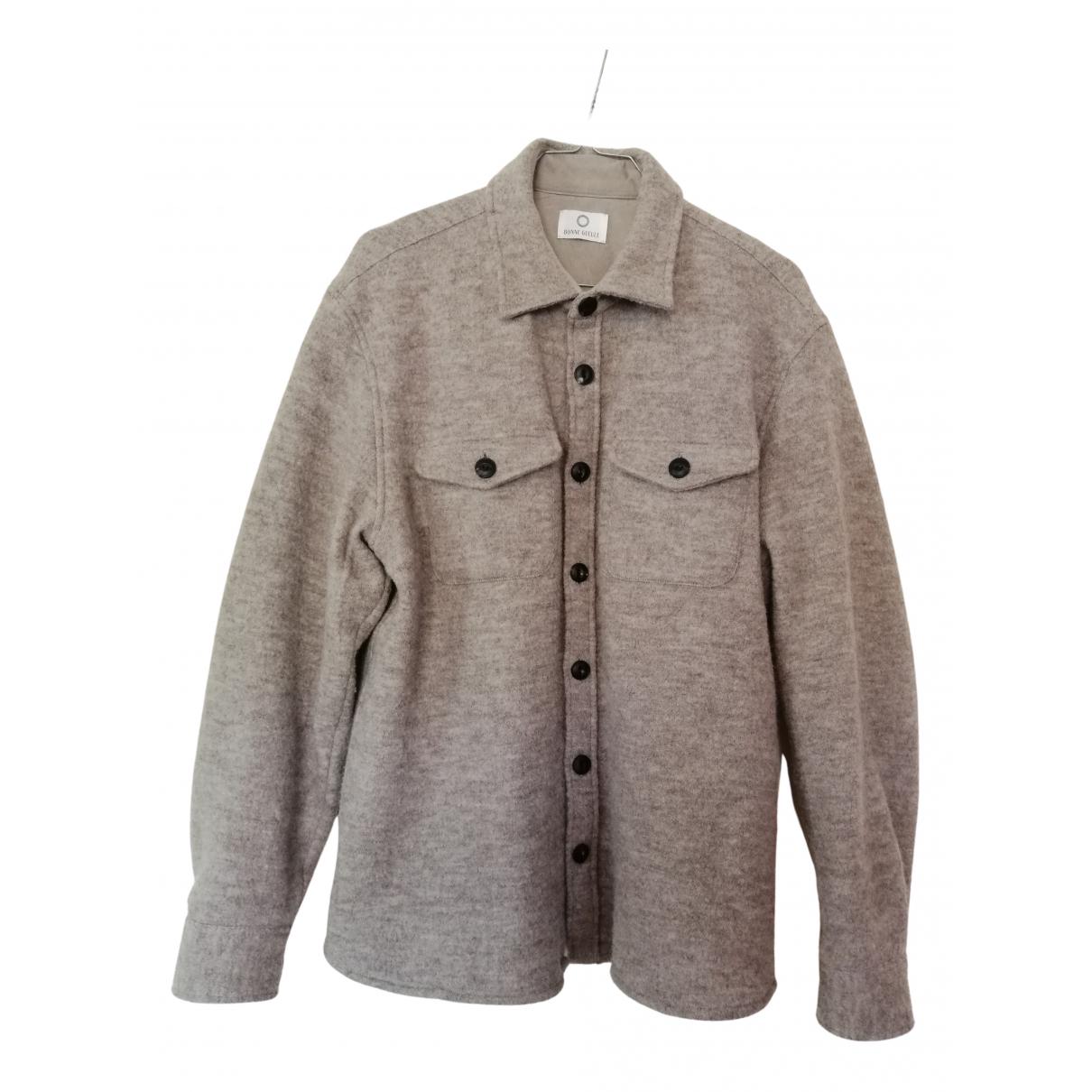 Bonnegueule - Chemises   pour homme en laine - beige