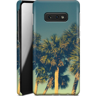 Samsung Galaxy S10e Smartphone Huelle - Sea Palms von Joy StClaire