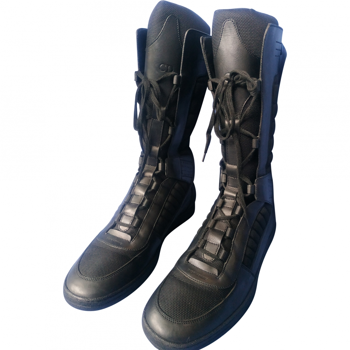Dior Homme \N Black Leather Boots for Men 44 EU