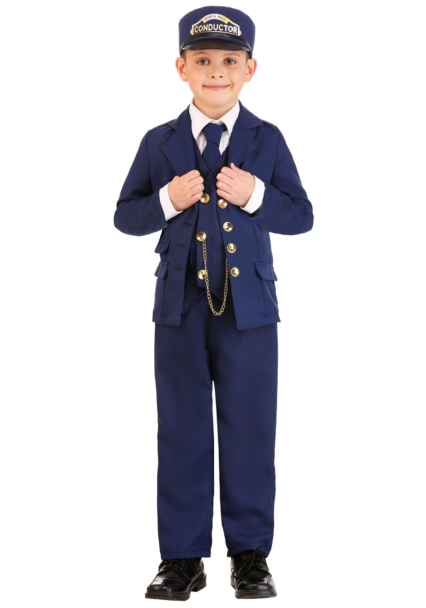North Pole Train Conductor Costume for Boys