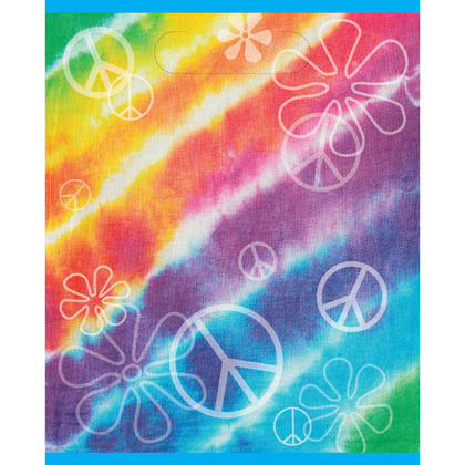 Tie Dye Loot Bags, 8ct For Birthday Party