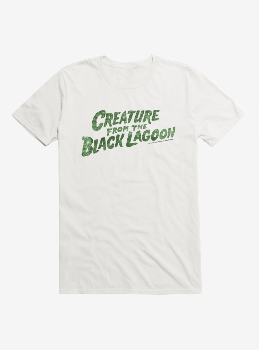 The Creature From The Black Lagoon Title T-Shirt