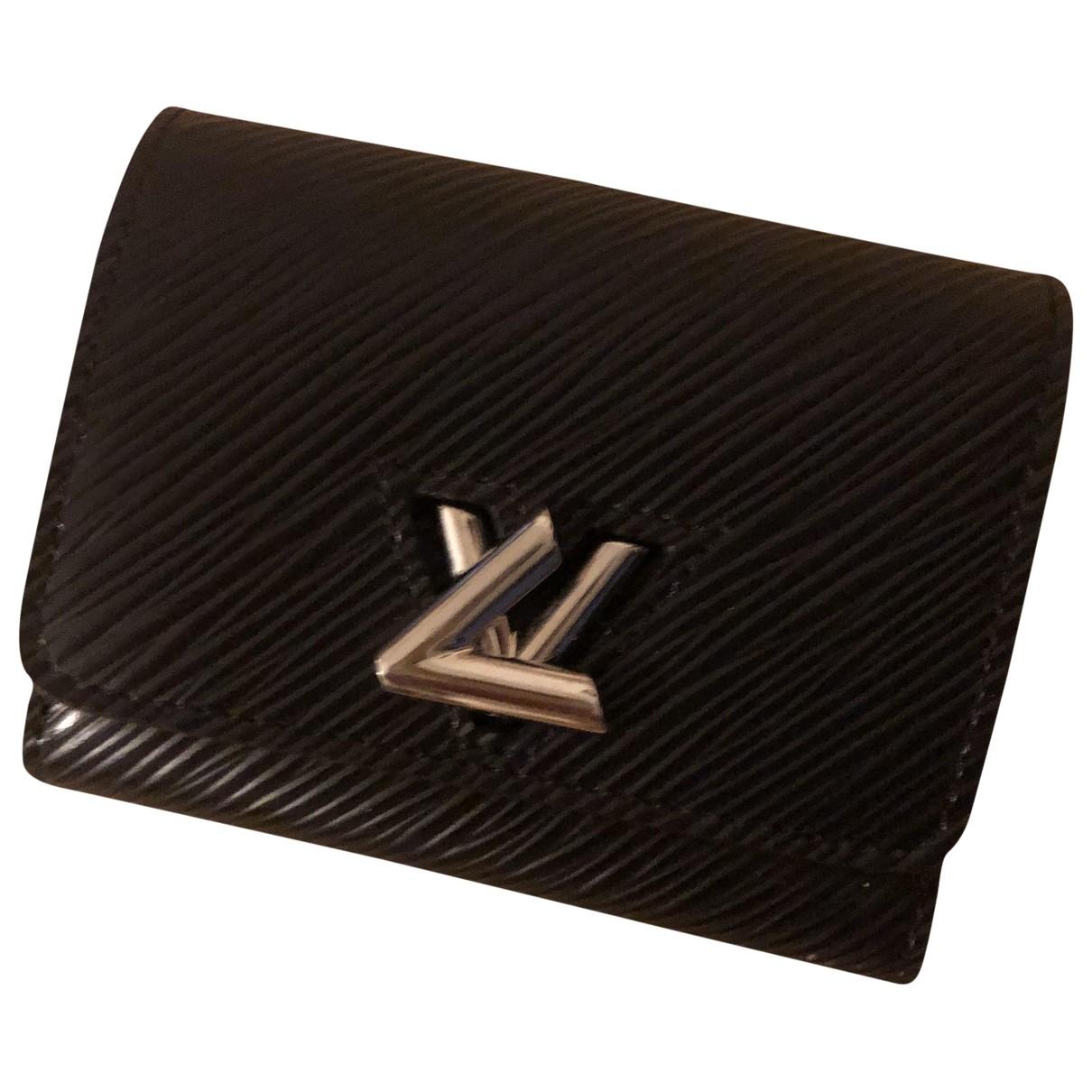 Louis Vuitton Twist Black Leather wallet for Women \N
