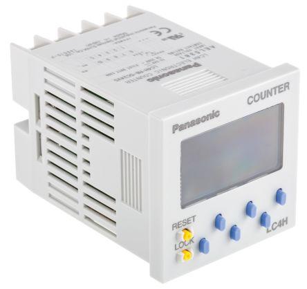 Panasonic , 6 Digit, LCD, Digital Counter, 60Hz, 12 → 24 V dc