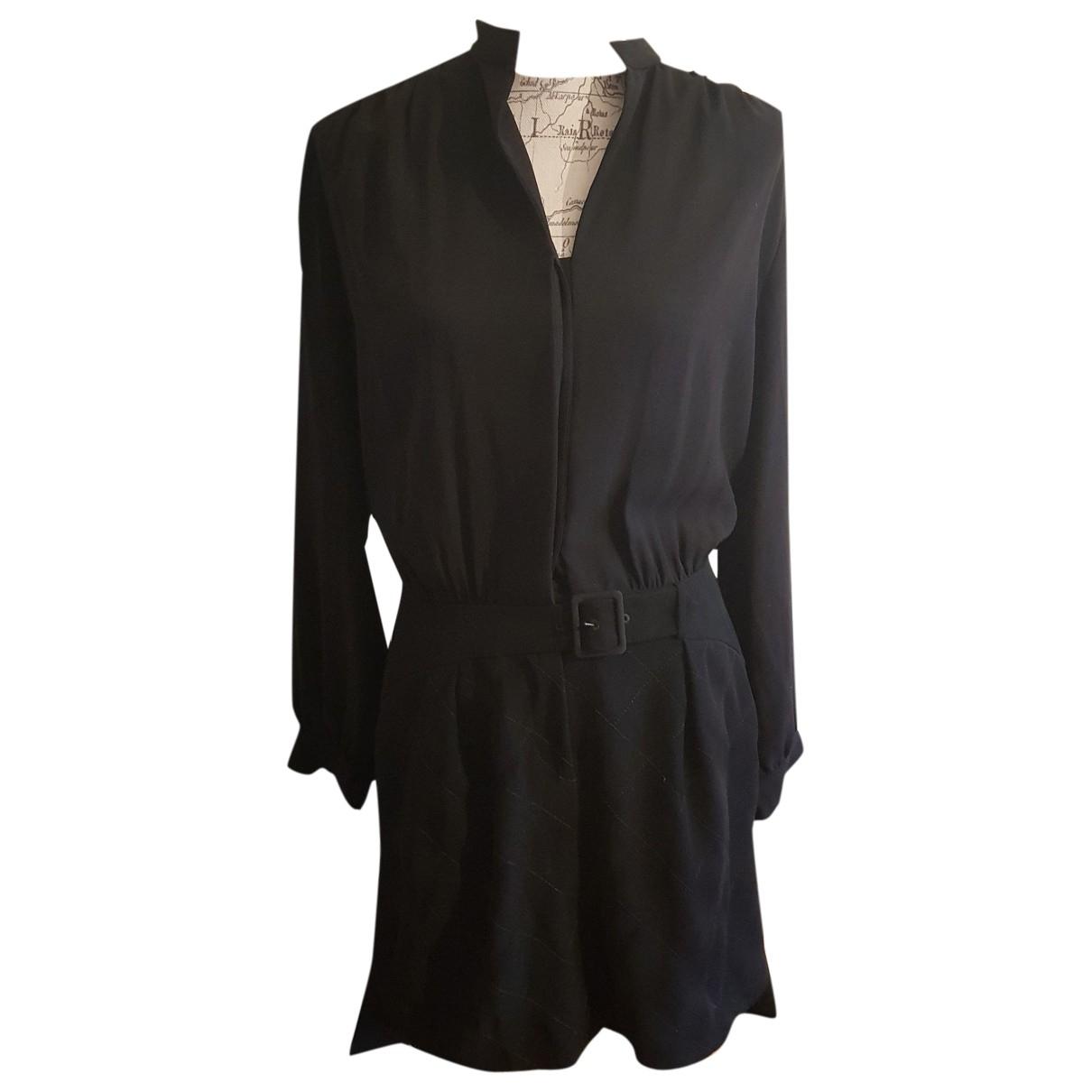 Kenzo \N Kleid in  Schwarz Polyester