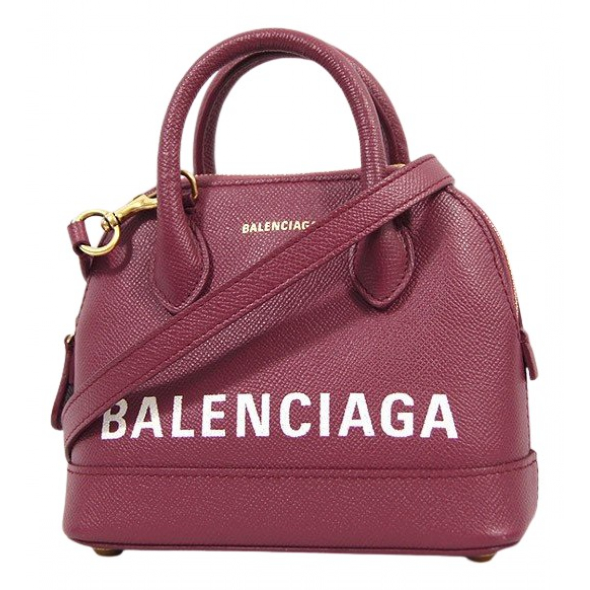 Bolso  Ville Top Handle de Cuero Balenciaga