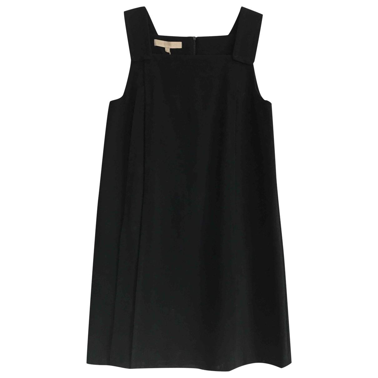 Vanessa Bruno \N Kleid in  Marine Baumwolle