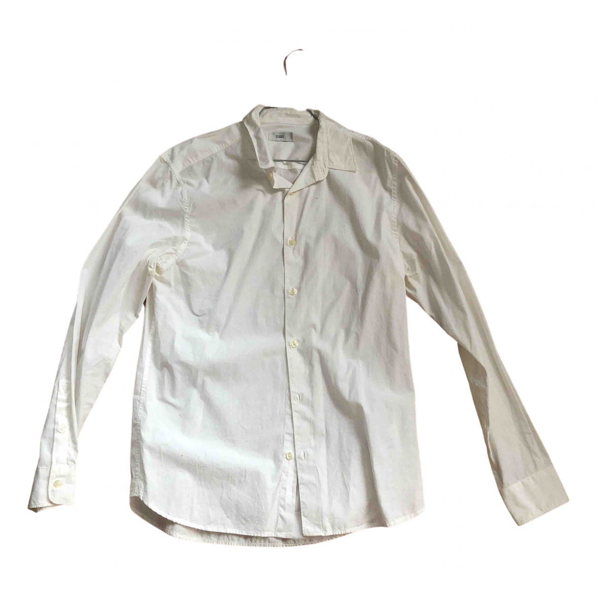 Closed N White Cotton Shirts for Men S International