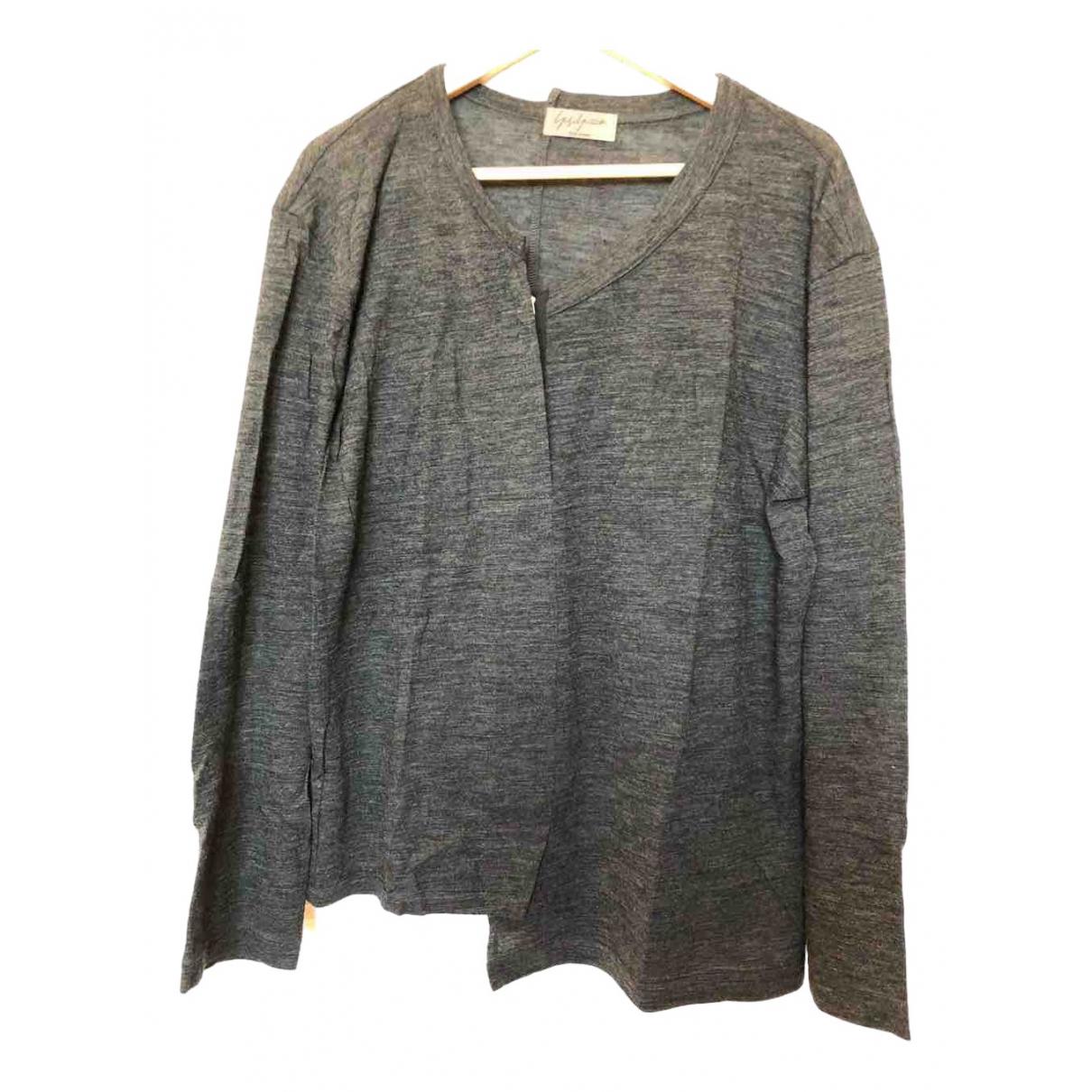 Yohji Yamamoto - Pulls.Gilets.Sweats   pour homme en laine - gris