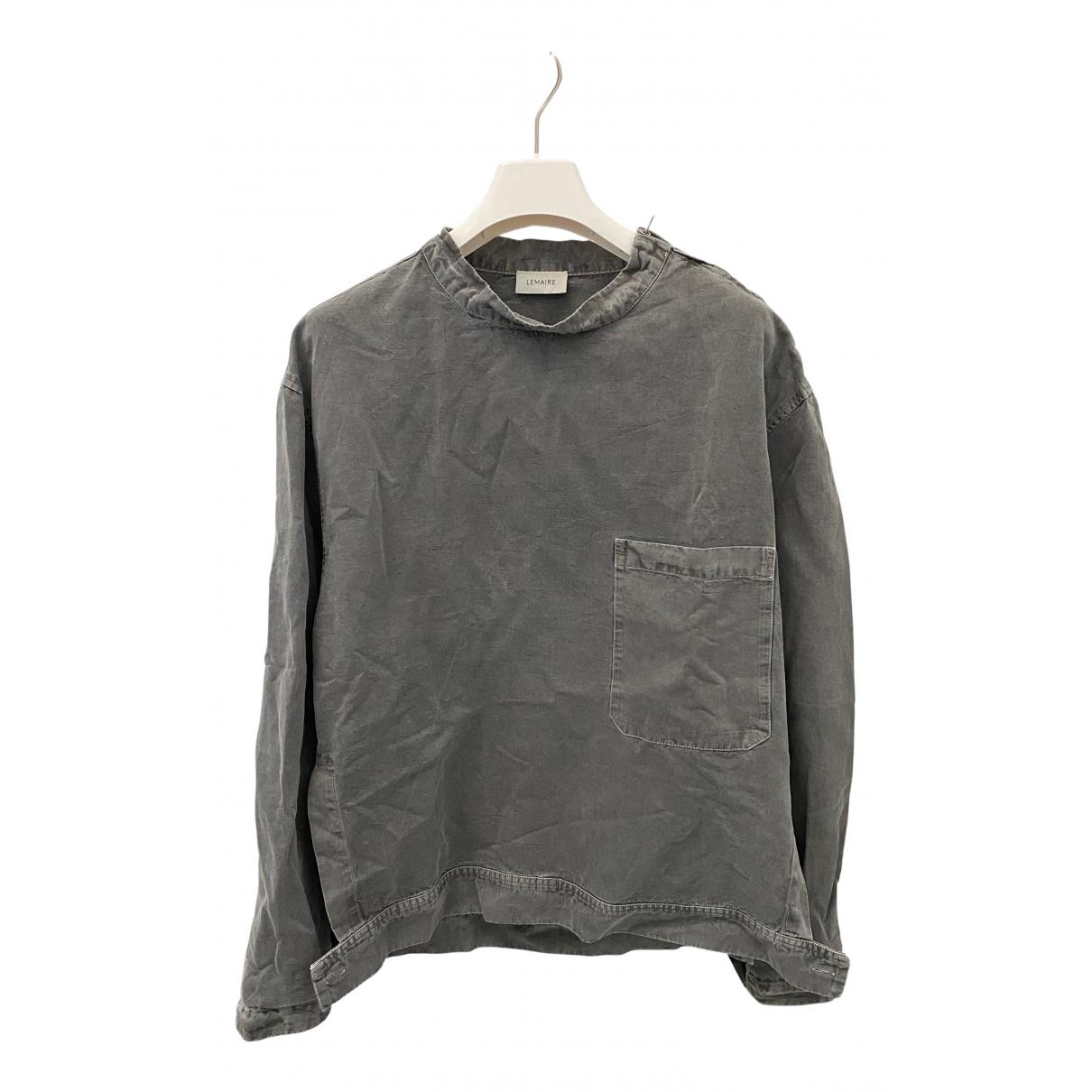 Lemaire N Grey Cotton Knitwear & Sweatshirts for Men S International