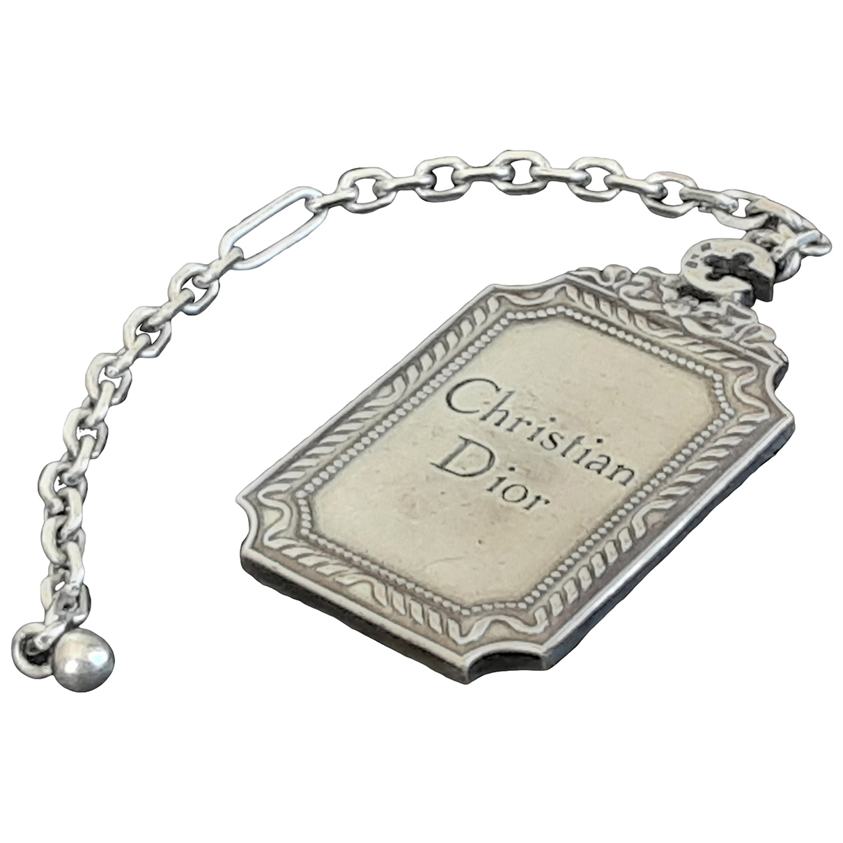 Dior \N Silver Silver Bag charms for Women \N