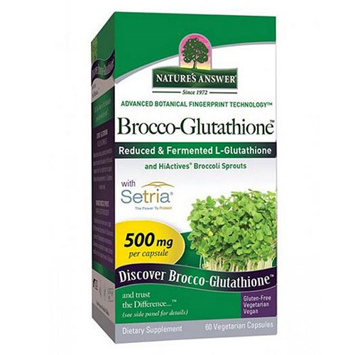 Brocco-Glutathione 60 Veg Caps by Nature's Answer