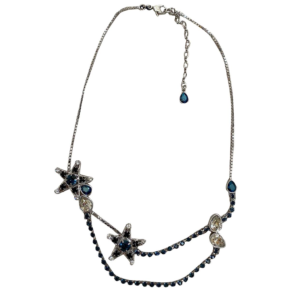 Swarovski - Collier   pour femme en metal - bleu