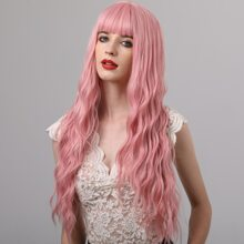1pc Long Curly Hair Wig