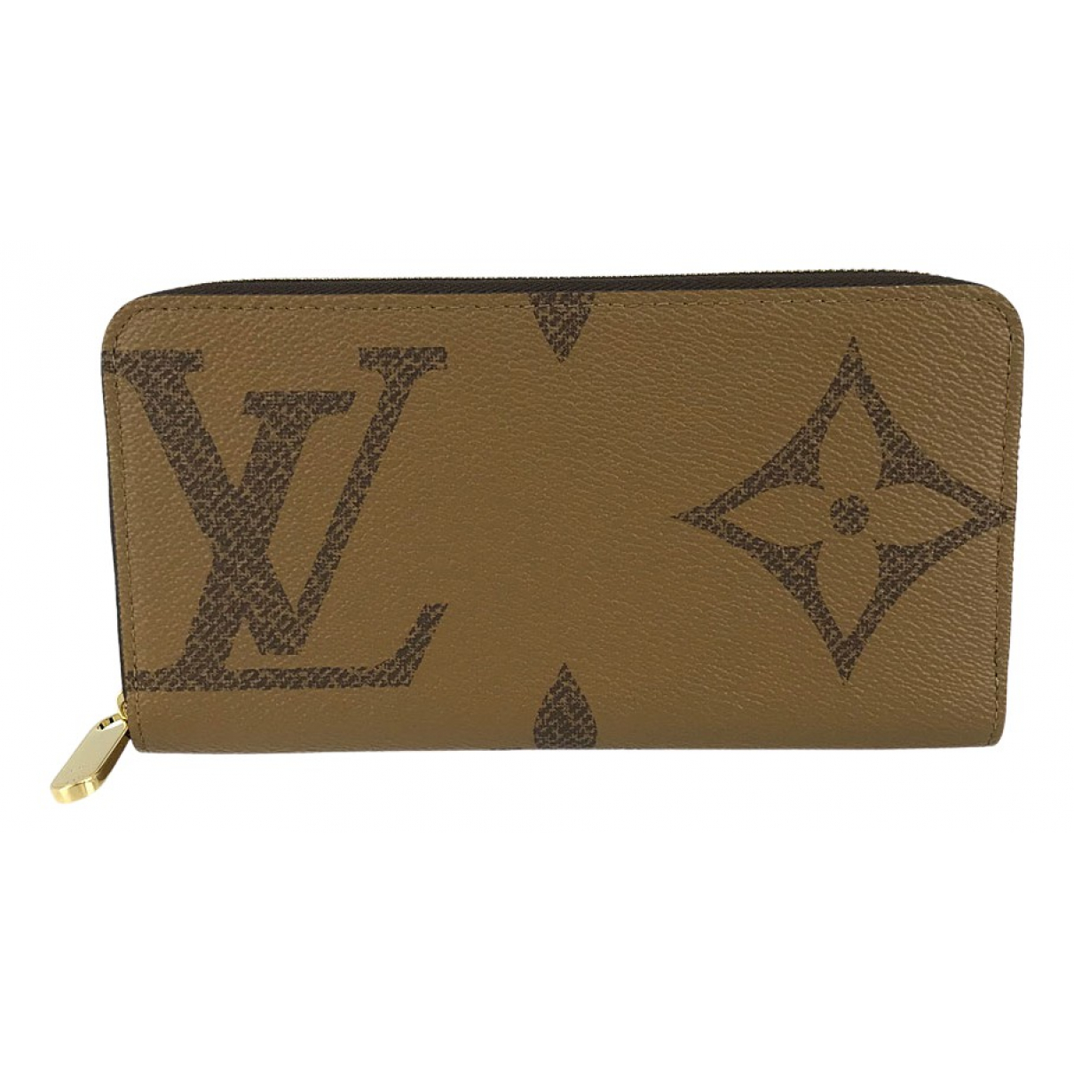 Louis Vuitton Zippy Brown Cloth wallet for Women \N