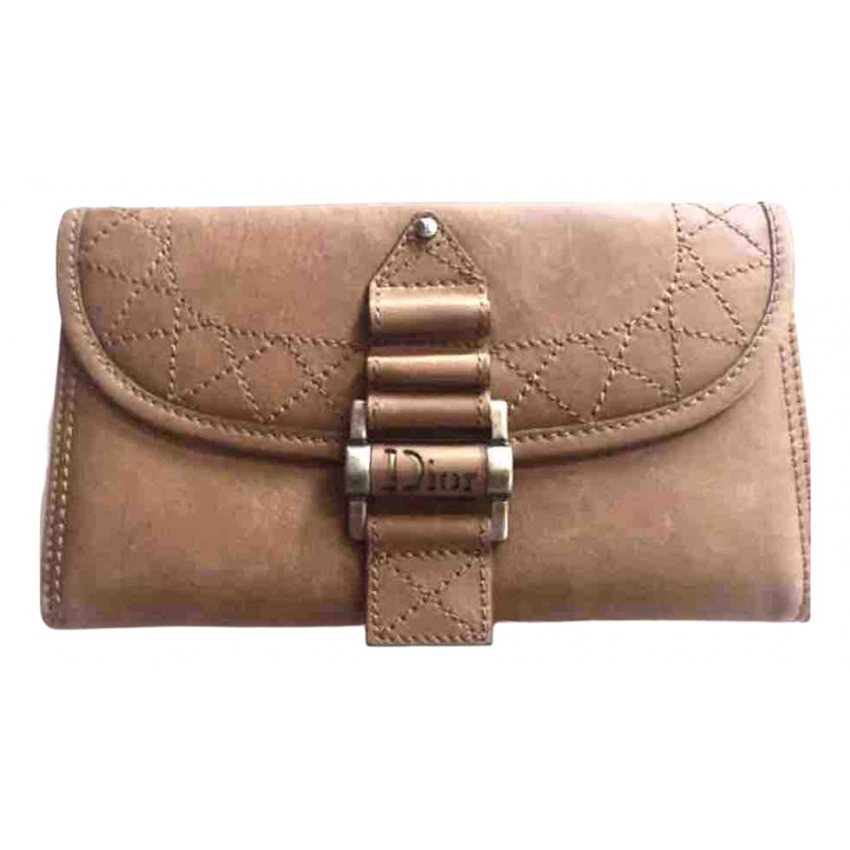Dior N Camel Suede wallet for Women N