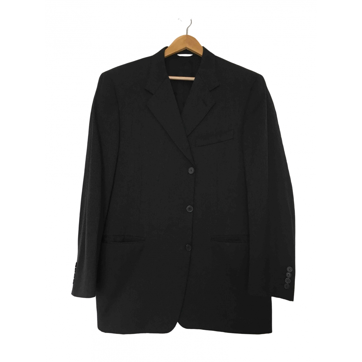 Christian Dior \N Anthracite Wool jacket  for Men 54 FR