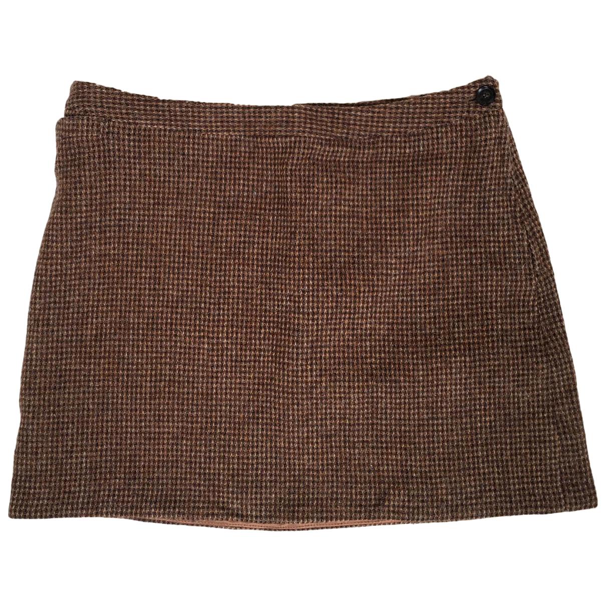 Mini falda de Lana Apc