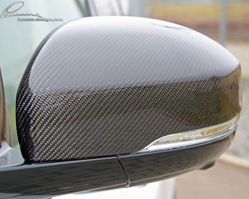 LUMMA CLR-R GT EVO Carbon -Design Mirror Cap Set for Range Rover 14-15