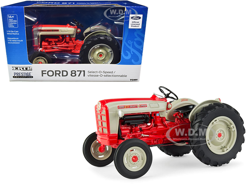Ford 871 Select-O-Speed Tractor