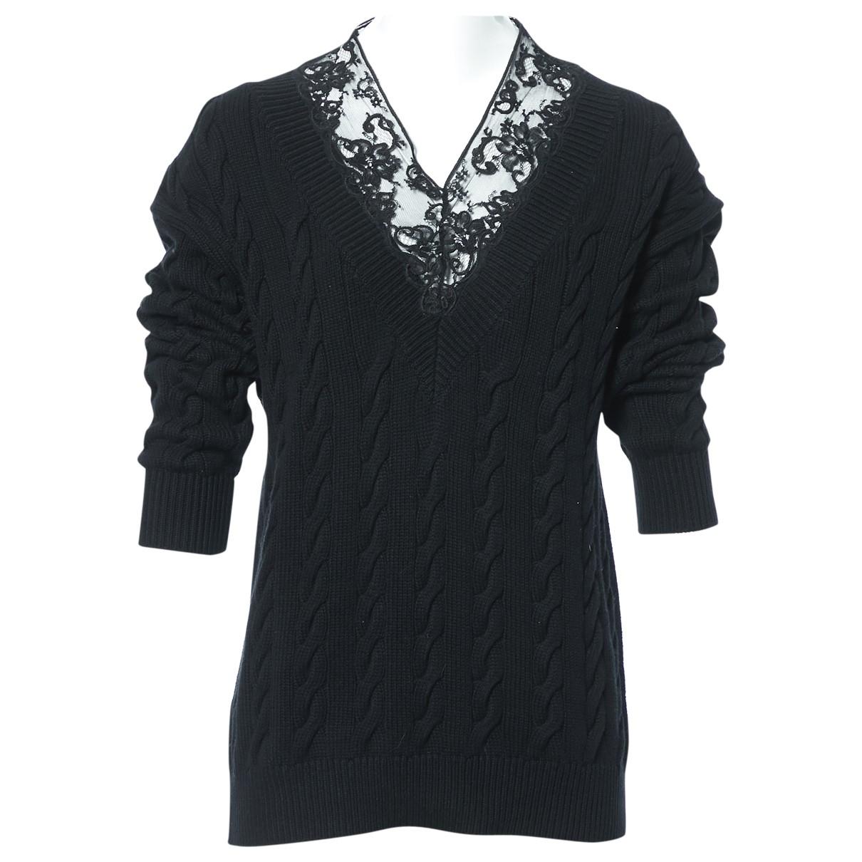 Alexander Wang \N Pullover in  Schwarz Baumwolle