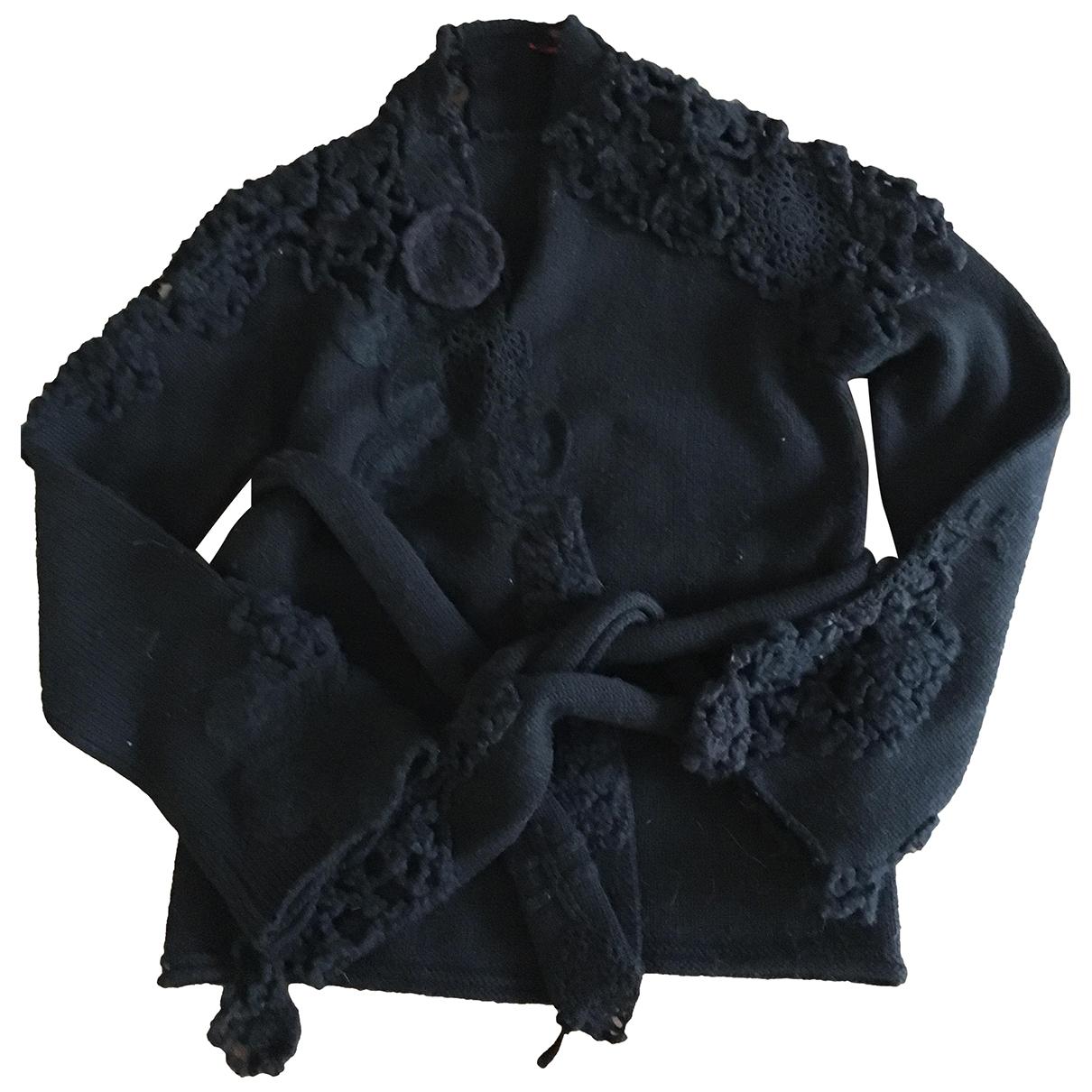 Kenzo - Pull   pour femme en laine - noir