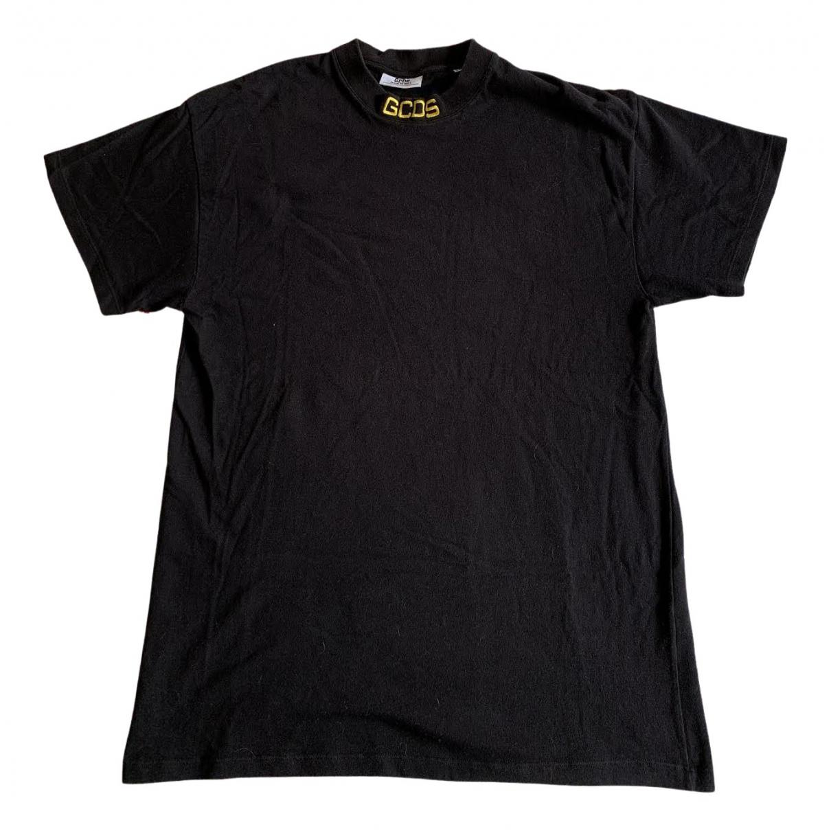 Gcds - Tee shirts   pour homme en coton - noir
