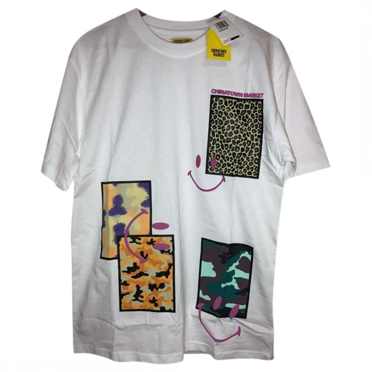 Chinatown Market \N T-Shirts in  Weiss Baumwolle