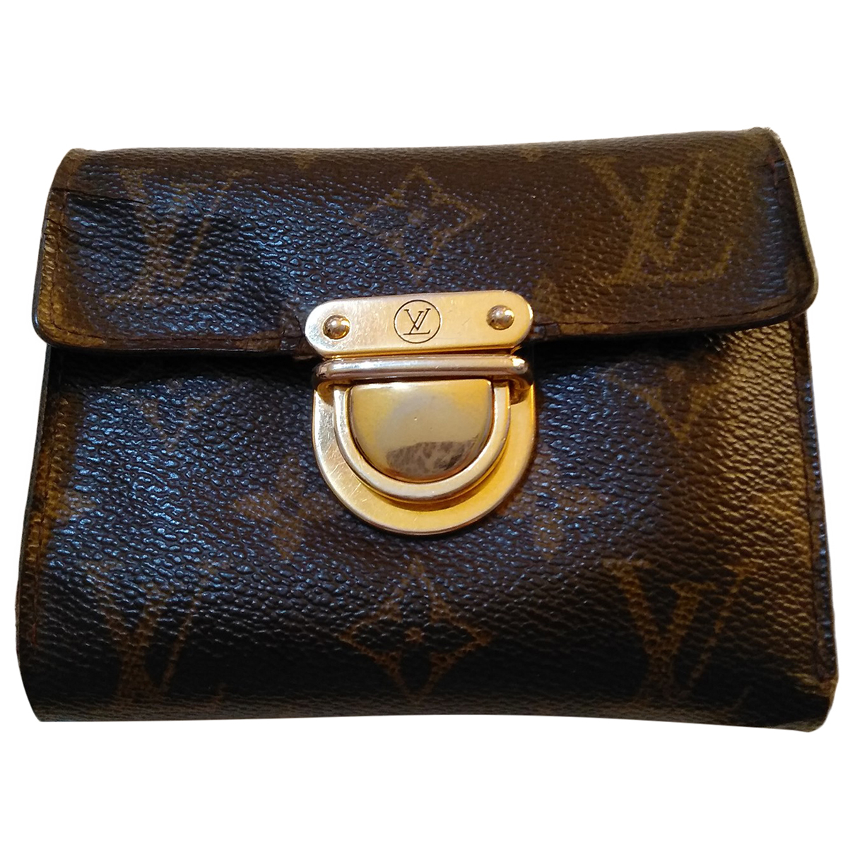 Louis Vuitton - Portefeuille Koala pour femme en toile - marron