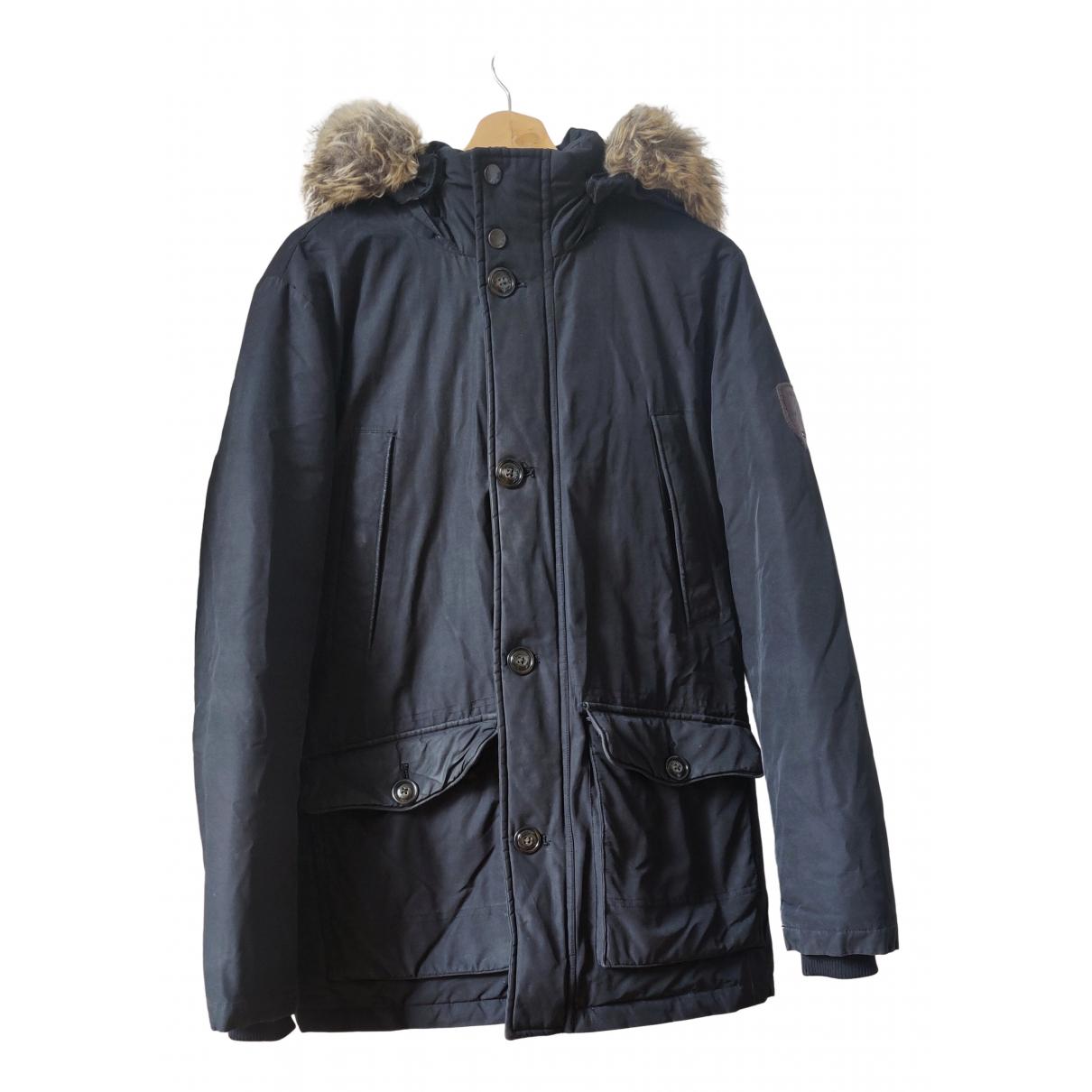 Tommy Hilfiger - Manteau   pour homme - noir