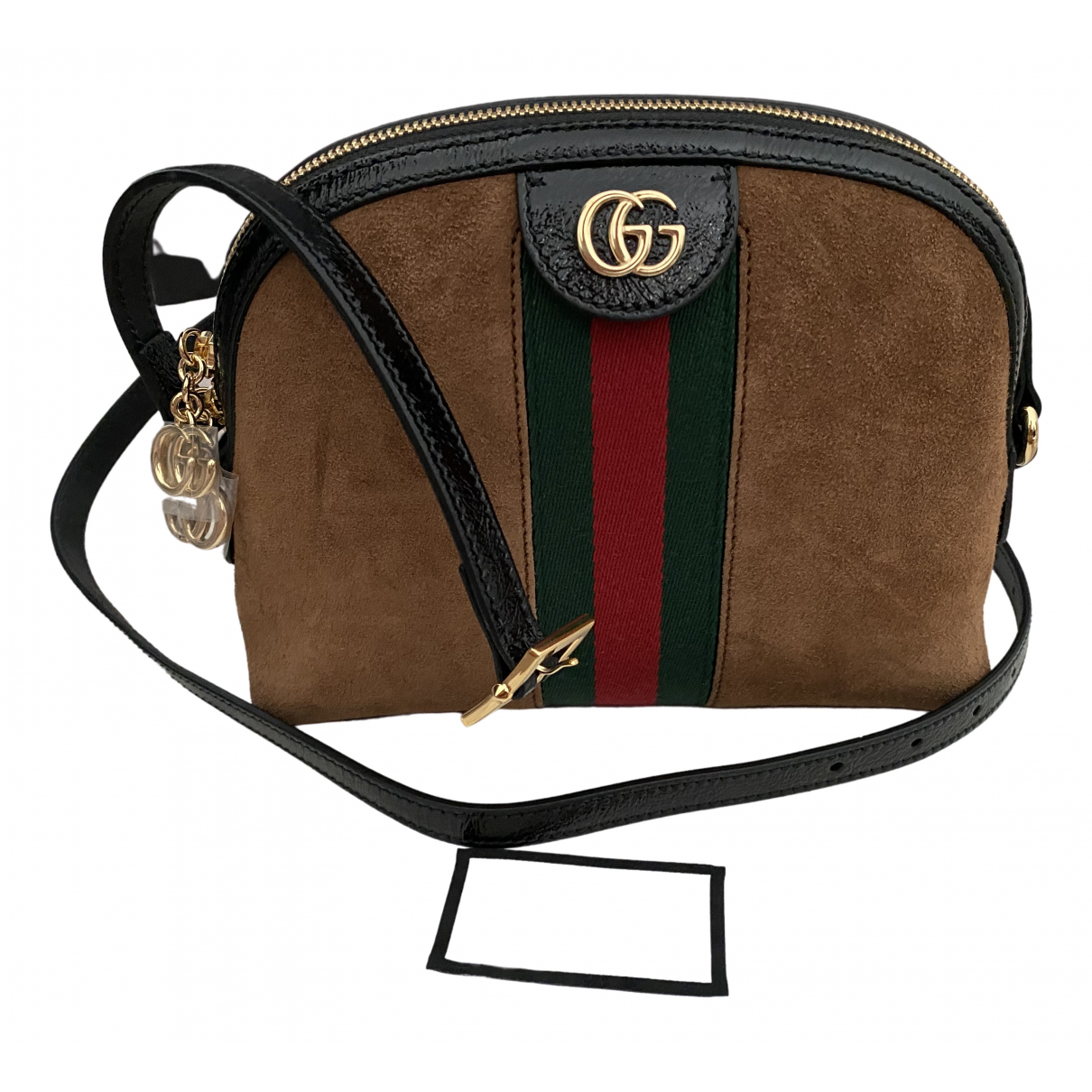 Gucci Ophidia Camel Suede handbag for Women \N