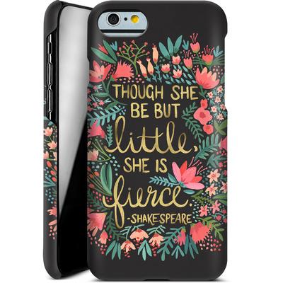 Apple iPhone 6 Smartphone Huelle - Little But Fierce Charcoal von Cat Coquillette