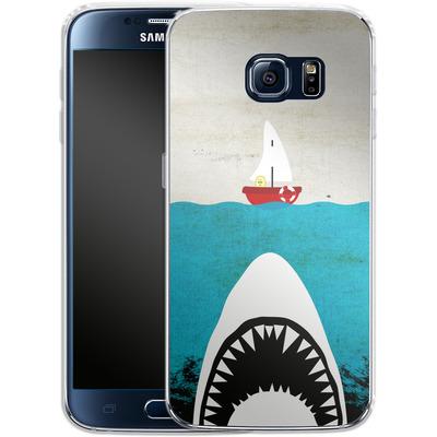 Samsung Galaxy S6 Silikon Handyhuelle - Damn von Claus-Peter Schops