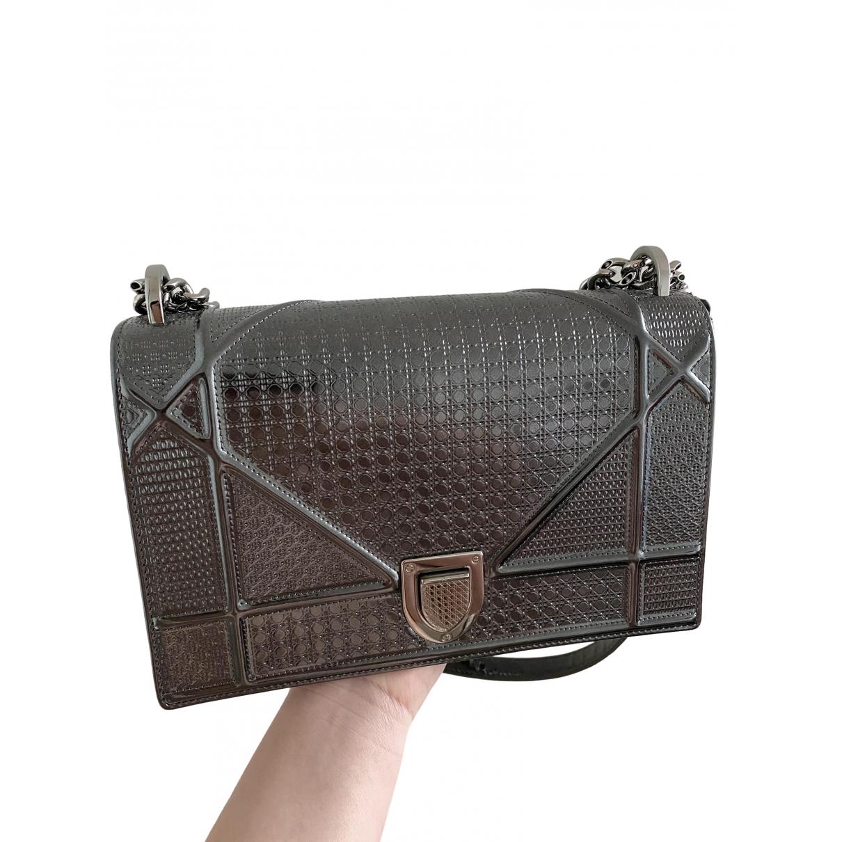 Bolso  Diorama de Charol Dior
