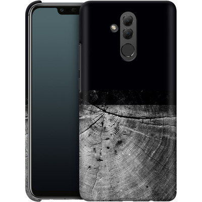 Huawei Mate 20 Lite Smartphone Huelle - Wood Grain Slice von caseable Designs