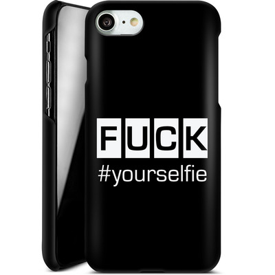 Apple iPhone 7 Smartphone Huelle - Fck Yourselfie von Statements