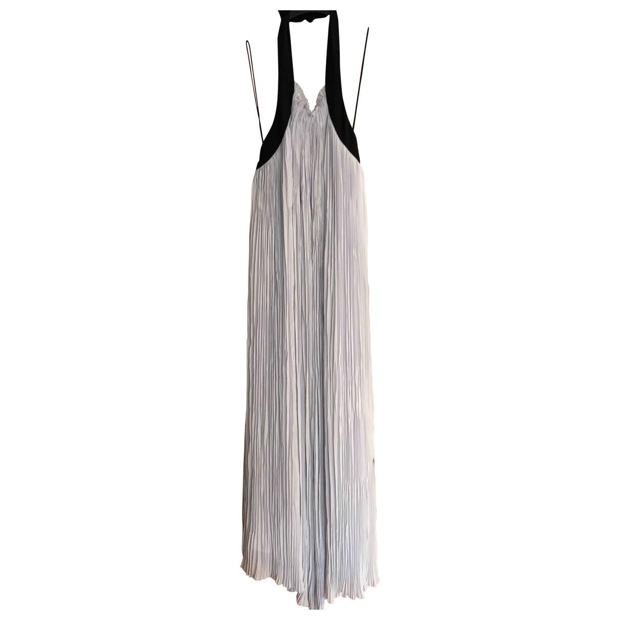 Maxi vestido Hippie Chic de Seda Non Signe / Unsigned