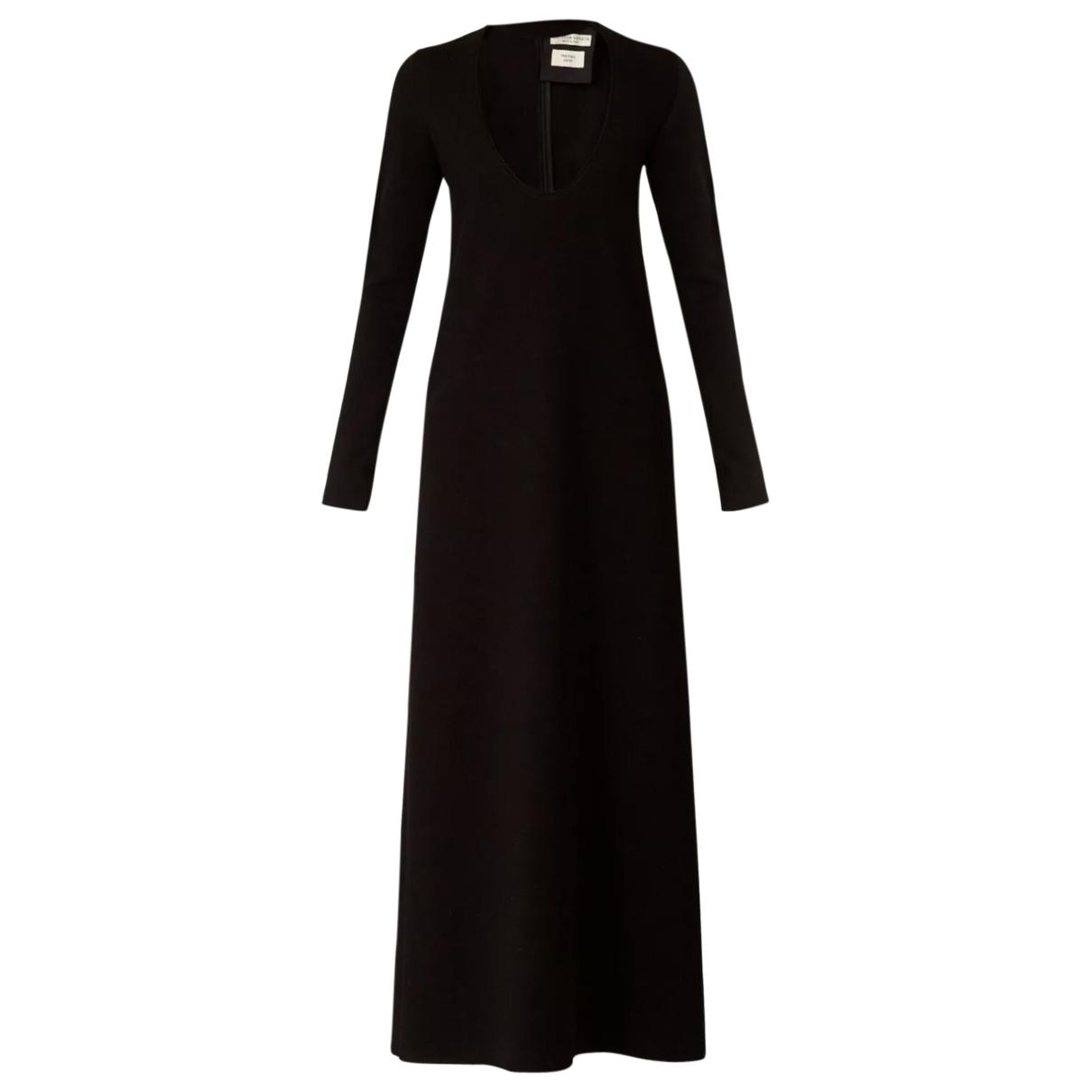 Bottega Veneta - Robe   pour femme en laine - noir