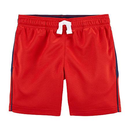Carter's Toddler Boys Pull-On Short, 2t , Red
