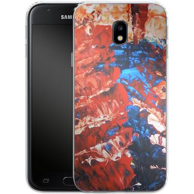 Samsung Galaxy J3 (2017) Silikon Handyhuelle - Macro 11 von Gela Behrmann
