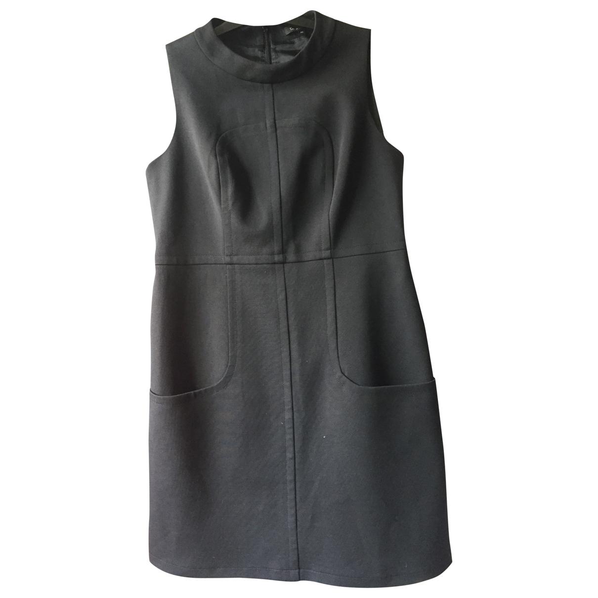 Tara Jarmon \N Kleid in  Schwarz Baumwolle - Elasthan