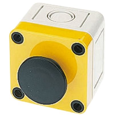 APEM Modular Switch Body, IP65, Black, Wall Mount, Momentary for use with A01 Series -20°C +55°C