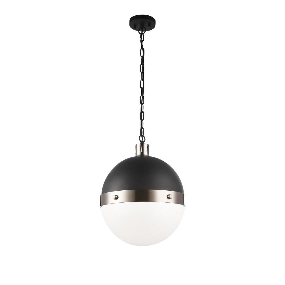 Matteo  C61803BNOP Three Light Pendant Torino Brushed Nickel - One Size (One Size - Clear)