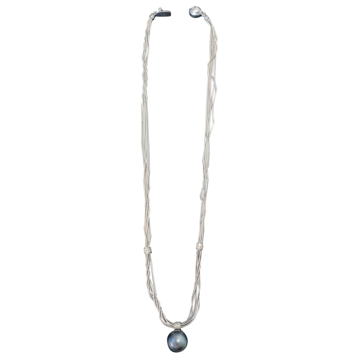 Damiani \N White White gold necklace for Women \N