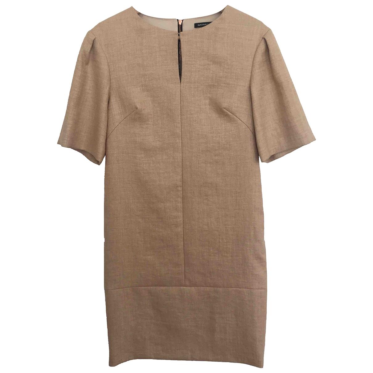 Natan - Robe   pour femme - beige
