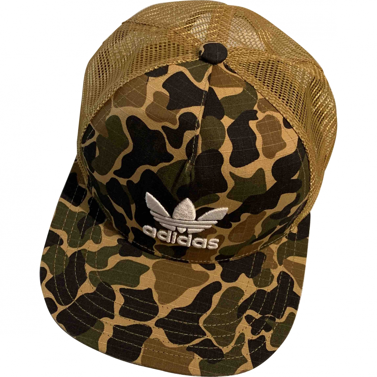 Adidas \N Khaki Cotton hat for Women M International