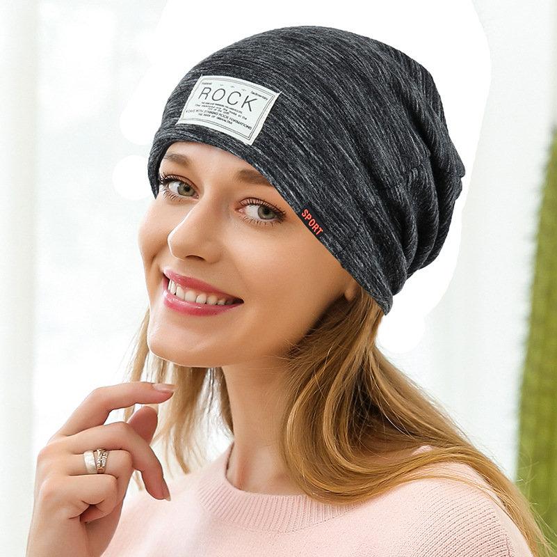 Womens Vogue Wild Cotton Beanie Cap Earmuffs Breathable Outdoor Casual Sun Hats