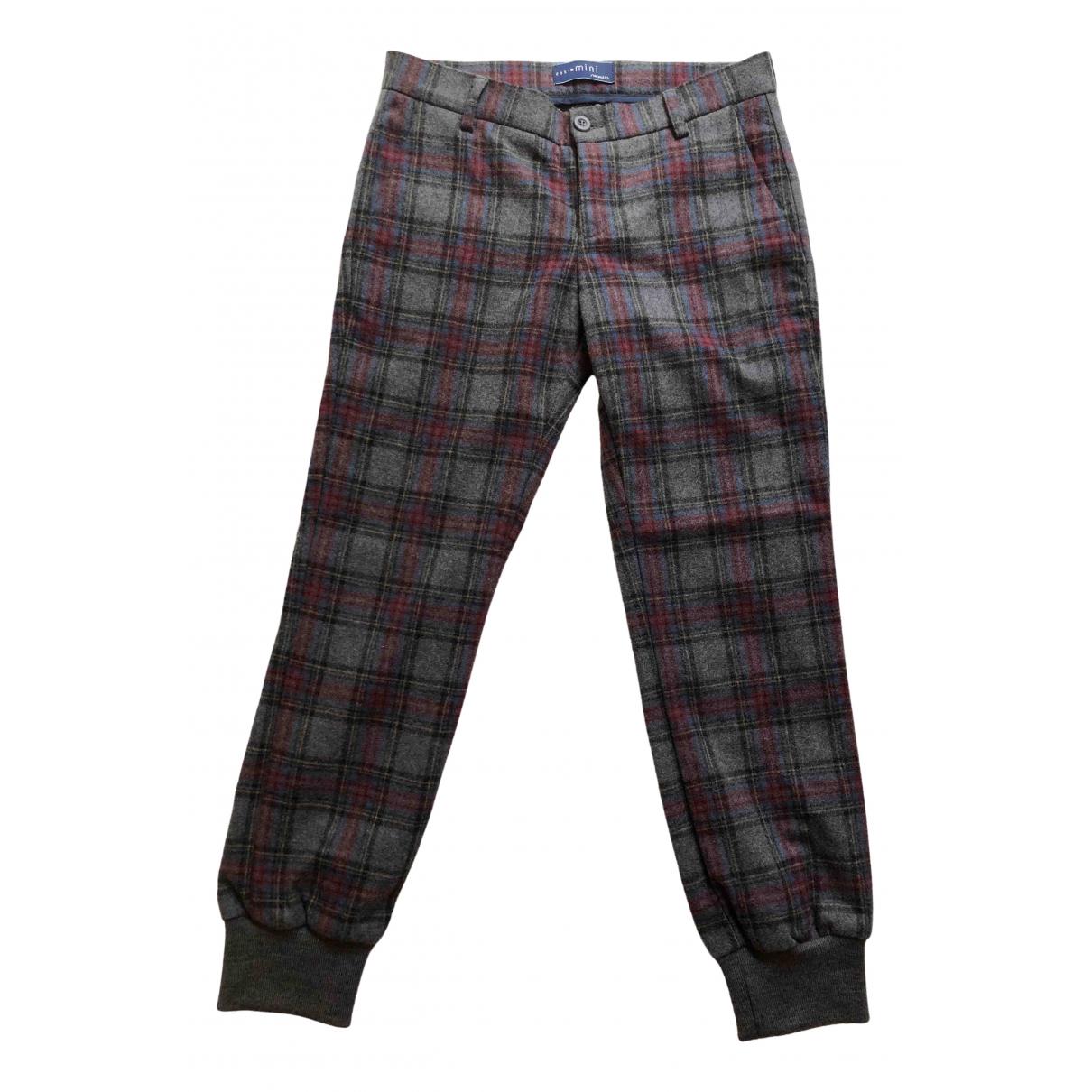 Simonetta - Pantalon   pour enfant en laine - multicolore